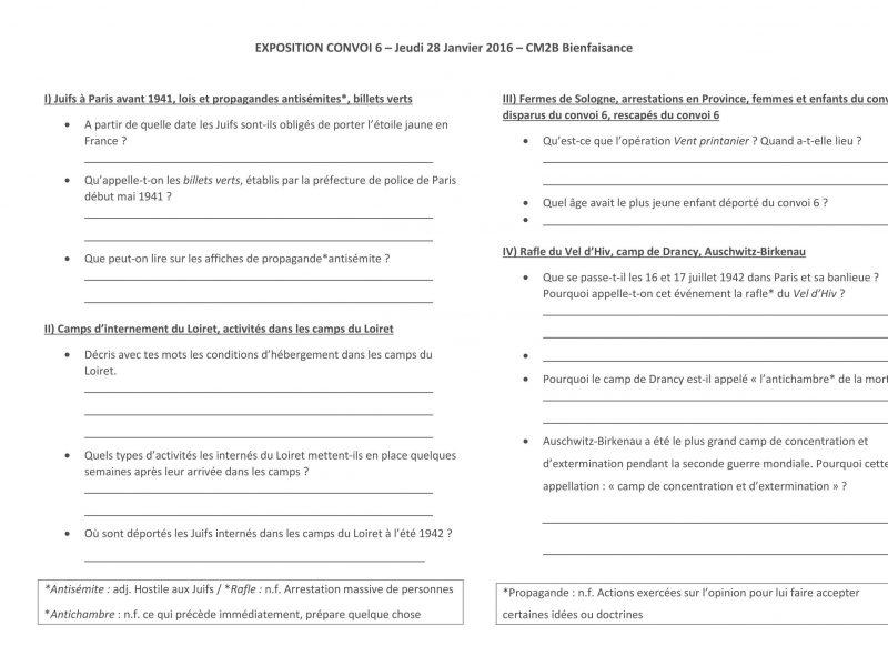 Exposition Convoi 6_m8_questionnaire